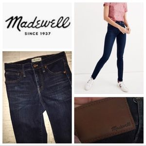 Madewell 9 inch Rise Skinny Tencel Jeans
